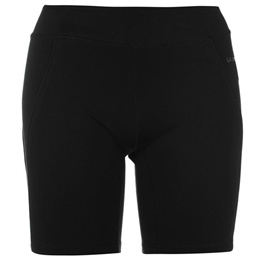 LA GEAR WOMENS FITNESS SHORTS CYCLE GYM CYCLING TIGHTS COMPRESSION SHORT