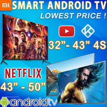 *Lowest Price❤LOCAL-WARRANTY❤Xiaomi TV Smart Android 4K TV 32 43 50 55 inch Model 4A 4X 4S ❤Best Deal
