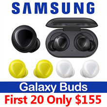[First 20 $155] Samsung Galaxy Buds SM-R170N Sports Bluetooth Wireless Earphone Earbuds