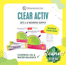 [2MTH SUPPLY] Clear Activ 30s x 2 *Clear Acne* Control Oil Balance* Proven Effective Result
