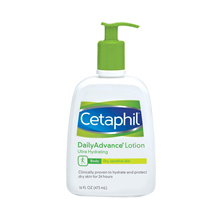 Cetaphil Daily Advance Ultra Hydrating Lotion Unscented - 16oz