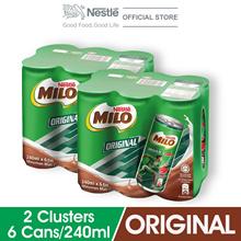 MILO Original Activ-Go Chocolate 240ml  2 Clusters
