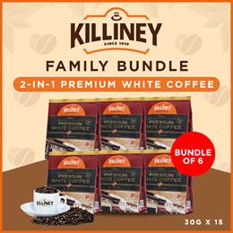 Killiney 2-in-1 Premium White Coffee Family Bundle