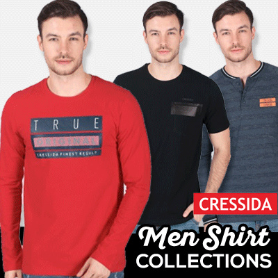 Cressida Mens Shirt Collections Deals for only Rp124.900 instead of Rp124.900