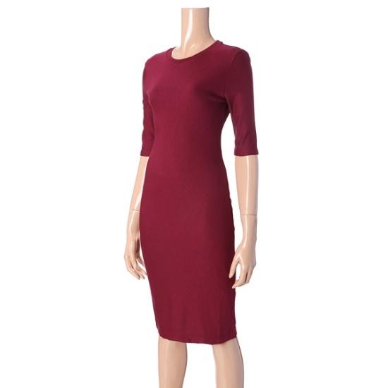 アルマーニエクスチェンジ女性基本スリムワンピース1427321510 面ワンピース/ 韓国ファッション