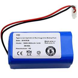 Rechargeable for Ilife Ecovacs Battery 14.8V 2600Mah Robotic Vacuum Cleaner Accessories Parts for Ch