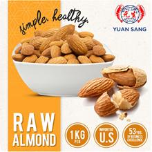 RAW ALMOND NUTS 1KG USA Healthy Snacks Almonds Hazelnut Cashew Wholesale Quality Fresh