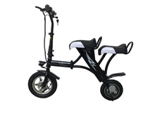 Solomo 2 Seat Electric Scooter 48V 8.8Ah Battery (25-35km)