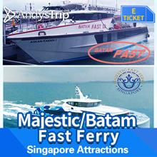 [Batam Ferry] Singapore/Batam - MAJESTIC FAST FERRY (HFC) 2 Way All IN (SEKUPANG/BATAM)