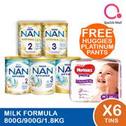 Nestle Nan Milk Forumla milk [Nan Optipro/HA/Kid hypoallergenic] (Bundle of 6)