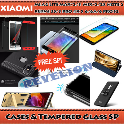 ☆FREE SCREEN PROTECTOR☆[SG]Xiaomi A2 Lite Max 2 3 Mix 2