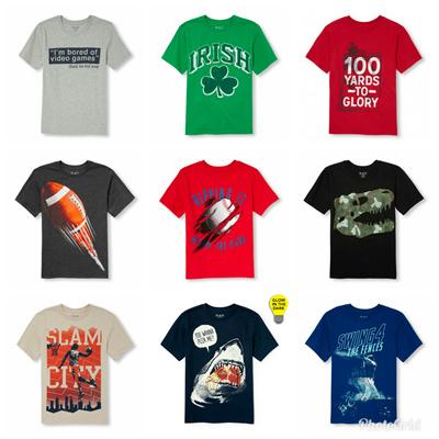 Children Place Kaos Anak Laki  3 - 16 Tahun