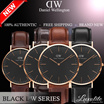 [Lowest Price Guarantee] NEW! DANIEL WELLINGTON BLACK SERIES !! FOR MEN AND WOMEN 100% Authentic DW Watch !! FREE SHIPPING.