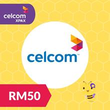 Celcom Postpaid Xpax Lite Postpaid Bill Payment RM50
