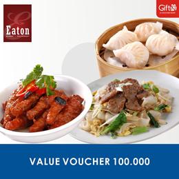 [FOOD] Eaton Value Voucher 100.000