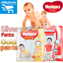 【HUGGIES】●CARTON SALE● HUGGIES GOLD/Silver/Total Protection Pants/Diapers ● Unisex ● NB/M/L/XL/XXL ●