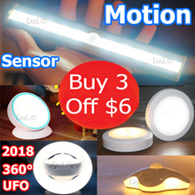 【BUY 3 GET $6 OFF】Portable Wireless Premium Motion Sensor LED Lights With Warranty