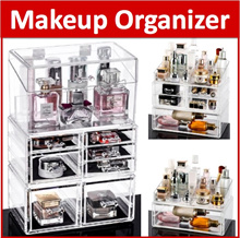 【24cm*15cm】Free Shipping C Series Acrylic Stackable Clear Makeup box transparent lipstick Cosmetic