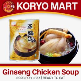 Ginseng chicken soup 800G