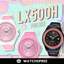 *APPLY SHOP COUPONS* CASIO Ladies Analog LX500H Series. Free Shipping and 1 Year Warranty.
