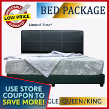 BED FRAME WITH FOAM|SPRING MATTRESS PACKAGE | Free Delivery and Installation