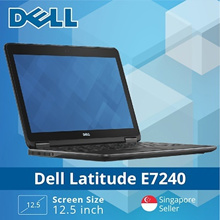 Refurbished Dell E7240 Laptop / Intel i5 / 4GB RAM / 128GB SSD / Win 8 / 1 Month Warranty