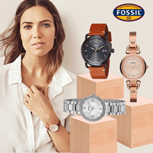 [FOSSIL] Jam Tangan Wanita - Pria - 100% Original Watches -  Free Shipping Jawa - 50 MODELS