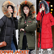New Arrival Womens Down Jackets Ladies Fashion Winter Coat -20 to 15 Degrees Double-sided Wear