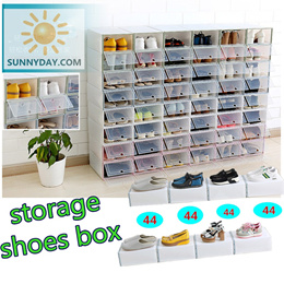 LOWEST price 2.99!!storage shoes boxes shoes rack 2018 new design storage box home storage