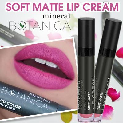 Mineral Botanica Soft Matte Lip-cream Lipstick