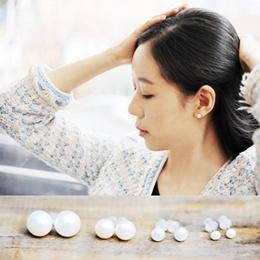[SHOWYOU]★ earrings 88% OFF★4mm 6mm 8mm Freshwater pearl collection  Best selling earrings