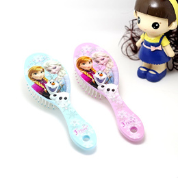 Cartoon baby air cushion comb Combs children girls kids comb the snow Princess Queen s lovely