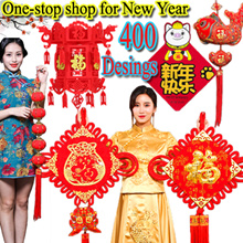 ❆One-stop shop for New Year❆Chinese knot❆Lucky Character ❆Hollow flower lanterns❆Spring Festival