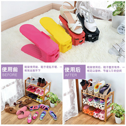 [Single pc] Adjustable Shoe Rack Storage Organizer Cabinet Space Saving Convenient Good Quality