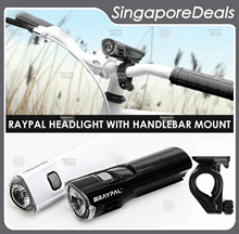 [PZ][D3] Raypal Headlight 5 LED Sleek Design Bike Headlight Electric Scooter Headlight Sheng Te
