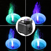 Submersible Pump with 12 Colored LED Light for Aquarium Fountain Hydroponics Cheap Price Drop Shippi