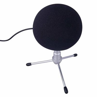 Mic Windscreens BLACK Microphone Windscreen Mike Wind Screen Fits All Stan Black