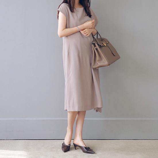 ビナイン原ボンオンバルワンピース 綿ワンピース/ 韓国ファッション