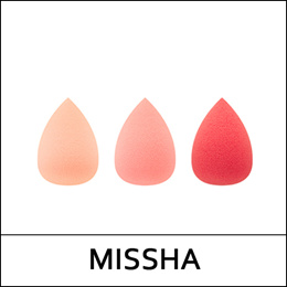 [MISSHA] Water In Finger Sponge (3P)