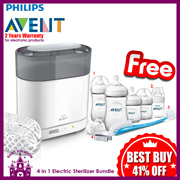 Philips Avent 4 in 1 Sterilizer Bundle FREE Starter Set