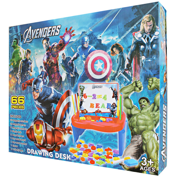 New karakter Avenger / Polos Drawing Board / Papan Belajar buat si kecil Deals for only Rp160.000 instead of Rp160.000