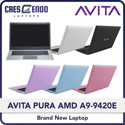 Casterly It Store New Launch Offer Avita Pura 14 Laptop Amd A9 9420e Free 3 In 1 Sleeve Multi Colors