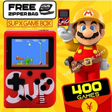 ★FREE $4.99 ZIPPER BAG CHRISTMAS GIFT★ Sup X Game Box Retro Game Console Emulator Built-In 400 GAME