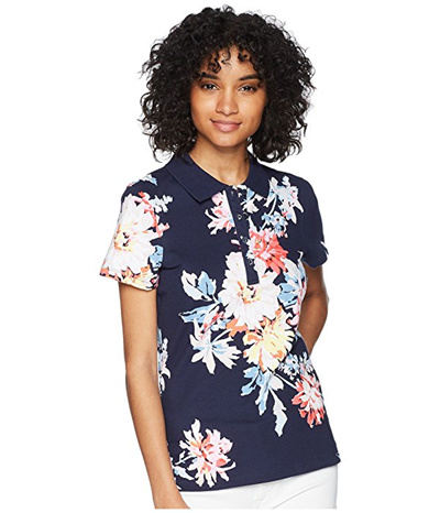 7714ca512a0 Qoo10 - Joules Pippa Printed Polo Shirt   Women s Clothing