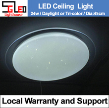 24W / YHXD / Warehouse sales / 40cm / LED Ceiling Light / Local Warranty / 3 color / LED Lighting