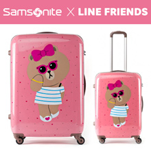 [LINE FRIENDS] Samsonite_Luggage_Choco (20inch/24inch/28inch)