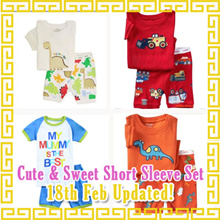 Children Top n  Bottom Short Sleeve Set/T shirt/shorts/Tee Shirt/T-shirt/Boys Top/Girls/Kids Clothes