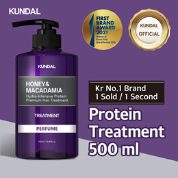 [KUNDAL] Protein Treatment 500ml ✨Kr No.1 Brand✨⭐1 sold in EVERY 1 Second⭐