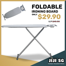 Folding Ironing Board  [Height-Adjustable] * Home Tool * Ladder * All in one