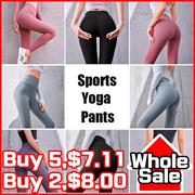 Women Fashion Sports Yoga Long Pants Fitness Pants